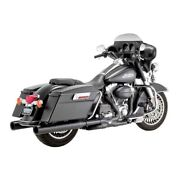 Vance And Hines Power Duals Elbow Black, For Harley Davidson Touring 09-16