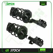 Front Pair Loaded Shocks Struts And Coil Spring Set For Toyota Sienna 2011-2014
