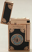 S.t. Dupont Limited Editon Ligne 2 Travel In Time Lightertsuba16963 New In Box