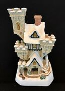 David Winter Christmas Castle Large Mib Coa Numbered Limited Edition