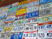 Starter Pack Of 10 License Plates From 10 Different States Tags Lot Art Crafts