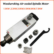 Cnc Spindle Motor Air-cooled 1.5/3.5/4.5/6kw 220v For Router Milling Woodworking