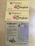 Disneyland And Disney World Admission Tickets And Parking