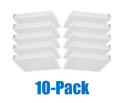 2x2 Ft. Led Troffer Lay In Light Fixture - Brand New - 5 Year Warranty 10-pack