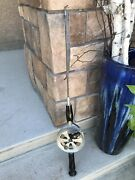 Vintage Salmon/trout Heavy Duty Fishing Rod And Reel Combo