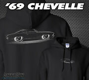 Hoodie And03969 Chevelle - 1969 Chevy Ss Super Sport Chevrolet Malibu