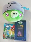 Angry Birds 5x5 Stuffed Plush, Keychain, Iphone 4 Cover S8