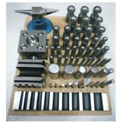 36 Pc Professional Forming Kit Doming Block Punch Set Dapping Die Jewellers Tool