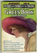 The Green Book Magazine January 1914 Pictures Stories Theatre John Ten Eyck