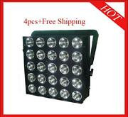 2530w Rgb 3 In 1 Led Matrix Disco Stage Effect Party Light 4pcs Free Shipping