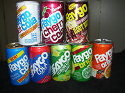 Faygo Soda Can Collection8 Vintage Soda Can Lotaluminumdetroitsoda Pop Cans