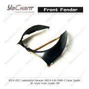 Frp Kit For 14-19 Huracan Lp610-4 And Lp580-2 Coupe Spyder Oe-style Front Fender