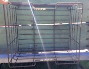 Antique Stunning Wire Shopping Basket / Bicycle Cart Basket 16x15 Approx
