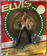 Elvis 1996 Carlton Cards Musical Christmas Ornament 2nd In A Collectible Seriese