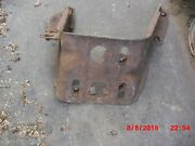 1972 Torino One Year Only Used Passengerand039s Front Bumper Bracket-d20z-17767-b