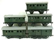 Lot Of Fleischmann Luggage And Passenger Cars 400 401 402 2 403 Trains B70-45