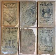 Rudyard Kipling Lot Of Six Indian Railway Library First Editions 1883-1890 Rare