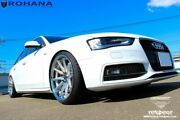 """20"""" Rohana Rc10 Machined Silver Concave Wheels For Audi A7 S7 A5 S5 A8 20x10"""