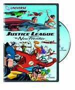 Justice League The New Frontier Dvd