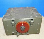 Us Army Signal Corps Bc-1335-a Receiver Transmitter Espey Military Radio Tube