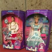 Barbie Doll Vintage 1991 Cinderella And Charming With Tracking F/s