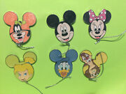 Disney Character Balloons Mystery Pin Collection Tinker Bell 6 Pins Le1500 Goofy