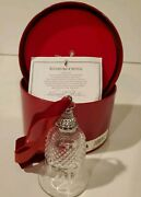 Waterford Crystal 12 Days Of Christmas Bell 11 Pipers Piping 11th Edition In Box