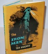 Rare Copy Ted Hughes The Iron Man First Uk Edition In D/j 1968