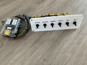 Custom Label Wired Marine Boat Switch Panel With Fuse Block