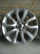 Genuine 20 Range Land Rover 4x Alloy Wheels To Fit Vw Transporter T5 T6