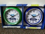 Ford Focus And Fiesta Rsst Wall Clocks Made To Your Own Designtypecolourimage