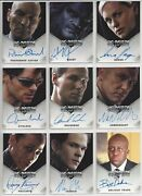 X-men X3 Movie The Last Stand - Master Set Of Trading Cards - Rittenhouse 2006
