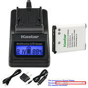Kastar Battery Lcd Fast Charger For En-el19 And Nikon Coolpix S5200 Coolpix S5300
