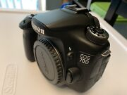 Canon Eos 70d Kit - Camera, 3 Lenses, Wireless Mic/receiver, Monopod And Case