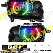 Oracle Halo Headlights Chevrolet Camaro Rs 10-13 Colorshift Bc1 Bluetooth And Hid