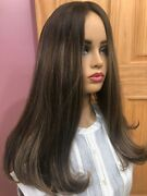 Malky European Multidirectional Hair Rooted 10/6/8 One Length 18