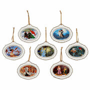 Authentic Us Disney Designer Ornament Set Limited Edition Of 300 Nib Sold Out