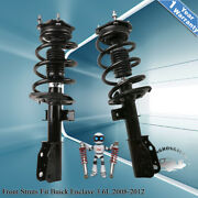 For Chevy Traverse Gmc Acadia Buick Enclave Front Strut Shock 2pc Kit