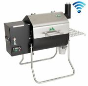 Green Mountain Grills Gmg Davy Crockett Wifi Wood Pellet Barbecue Grill Dcwf
