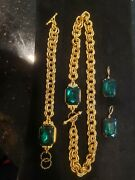 John Wind Necklace With Matching Bracelet And Earrings
