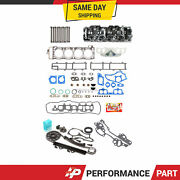 Cylinder Head Timing Water Pump Kit For 85-95 2.4 Toyota 22r 8v Exc Turbo Sohc