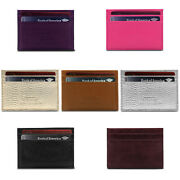 Otto Angelino Genuine Leather Wallet - Bank Cards Money Driverand039s License