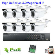 8ch 12mp Nvr Onvif 5mp 2.8-12mm Vari-focal Poe Ip Outdoor Security Camera System