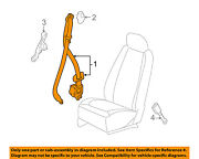 Chevrolet Gm Oem 06-07 Hhr Front Seat Belts-retractor Assembly Right 89026210