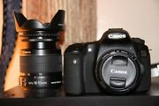 Canon Eos 60d Digital Camera 18.0 Mp Slr With 18-55mm + 50mm F/1.8. 3 Lens