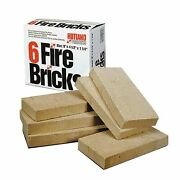 Fire Brick Wood Stove Furnace Forge Thermal Refractory Cement Mortar Coal 6 Pack