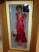 Nrfb Franklin Mint Diana Princess Of Radiance Doll Limted Edition 1