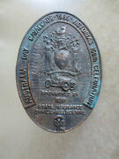 1985 Melbourne Pageant Car Badge For Ford Chev Austin Morris Mg Rover