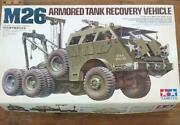Tamiya 1/35 Military Plastic Model M26 Armored Tank Recovery Vehicle F/s