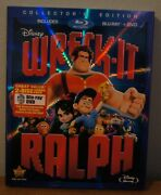 New Wreck-it Ralph Collector's Edition Blu-ray/dvd, 2013, 2-disc Set